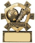 Football Mini Shield Trophy